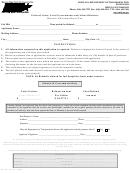 Form Mf-27g - Refund Of Montana Diesel Tax