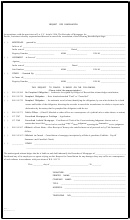 Form Rfc 1 - Request For Cancellation