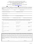 Designation Of Beneficiary Form