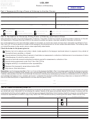 Form Lgl-001 - Power Of Attorney