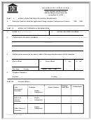 Form Il 505-0347 - Reciprocity Application