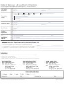 Voter Registration Cancellation Request - Close Relative