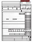 Form Mo-1120 - Missouri Corporation Income Tax/franchise Tax
