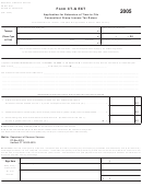 Form Ct-g Ext - Application For Extension Of Time To File Connecticut Group Income Tax Return