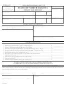 Form 54-91 - Estate Tax Return - State Of North Dakota