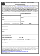 Form Das142 - Request For Dispatch Of An Apprentice printable pdf ...