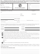 Petition For Expungement (for Acquittal, Dismissal With Prejudice, Or Failure To Indict) Form