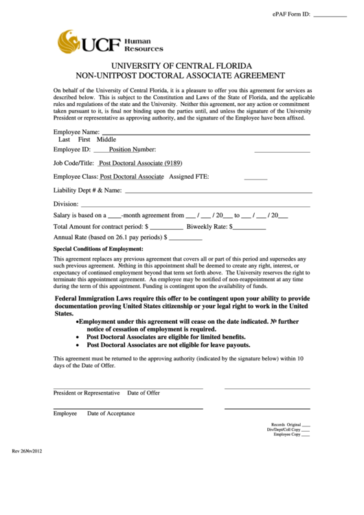 Top 15 Ucf Immunization Form Templates free to download in PDF ...