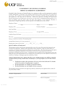 Ucf Medical Resident Agreement Form