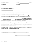 Form 48212 - Order Continuing Regular Commitment Without Hearing Form