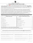 Ucf-employment Of Relatives Form