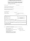 Universal Access Fund Quarterly Deposit Report Form