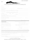 Form St-19 - Claim For Refund Of Colorado Springs Sales And/or Use Tax