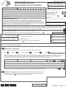Form St-100 - New York State And Local Quarterly Sales And Use Tax Return