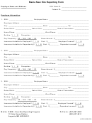 Form Loc20 - Maine New Hire Reporting