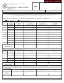 Form 304 Cigarette Tax Stamp Record Schedule C