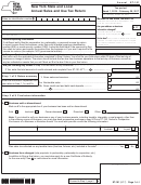 Form St-101 - New York State And Local Annual Sales And Use Tax Return