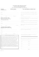 California Preliminary Notice Form/proof Of Notice Declaration
