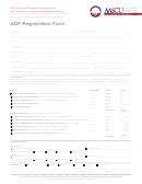 Adp Registration Form