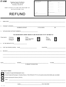 Form It-6w - Employer's Claim For Refund Of Withholding Tax