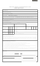Alberta Mortgage Of Land-home Trust Company Charge Form