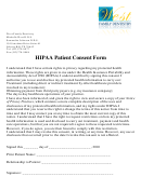 Hipaa Patient Consent Form