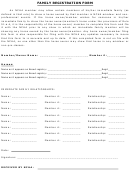 Family Registration Form-reference Sheet For Family Owned Horse Rule