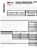 Form Nyc-9.5 Draft - Claim For Reap Credit Applied To General Corporation Tax And Banking Corporation Tax - 2012