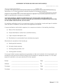 Agreement Between Builder And Purchaser(s) Template