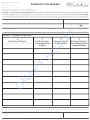 Schedule Ct-706 Draft Template - Farmland