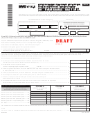 Form Nyc-114.8 Draft - Lmreap Credit Applied To Unincorporated Business Tax - 2011