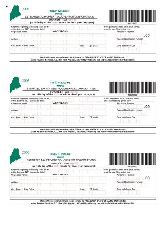 form 1120 payment voucher