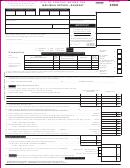 Form P1040(r) - Individual Return - Resident - 2008
