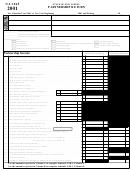 Form Nj-1065 - Schedule L printable pdf download