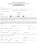 Participation Of District Volunteer In Field Trip Activity Assumption Of Risk And Medical Treatment Authorization Form