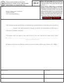 Form 701-f - Waiver Of Statute Of Limitations Pertaining To Franchise Tax