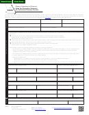 Form 5095 - Sales Tax Exemption Statement For Authorized Common Carriers - Missouri Department Of Revenue