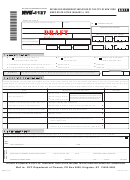 Form Nyc-1127 - Return For Nonresident Employees Of The City Of ...