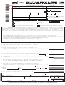 Form Nyc-204ez Draft - Unincorporated Business Tax Return For Partnerships (including Limited Liability Companies) - 2017