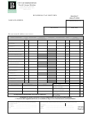 Business Tax Return-city Of Bremerton Form