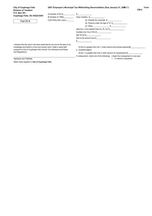 Top 33 Ohio Withholding Form Templates free to download in PDF ...