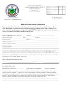 Rental Registration Application Form