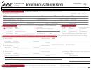 Enrollment/change Form - Schnectady Office
