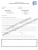 Supervisor-employee Counseling Form