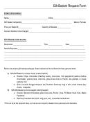 Gift Basket Request Form