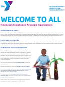 Financial Assistance Program Application Form
