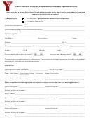 Winnipeg Employment/volunteer Application Form