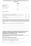 Da Proposed Development Submission Form