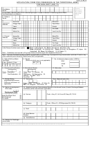 Form I.a.f (ta)-9 - Application Form For Commission In The Territorial Army For Non Dept (inf) Ta