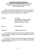 Litigation Intake Information Sheet
